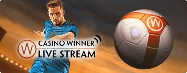 Casino Winner Football graphics